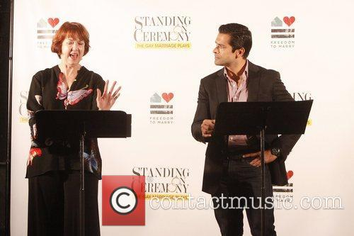 Harriet Harris and Mark Consuelos 8