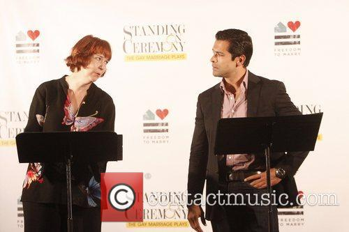 Harriet Harris and Mark Consuelos 4