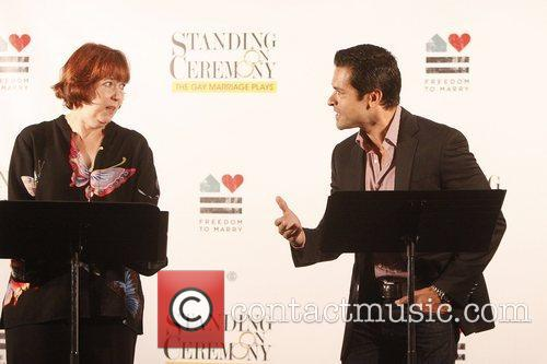 Harriet Harris and Mark Consuelos 3