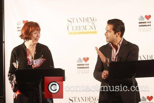 Harriet Harris and Mark Consuelos 7