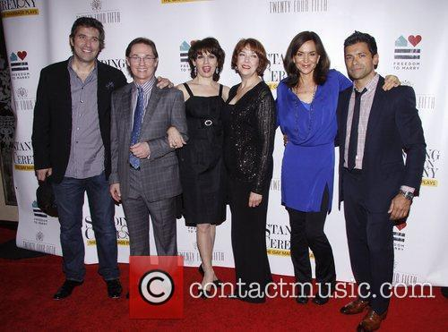 Craig Bierko, Harriet Harris, Mark Consuelos, Polly Draper and Richard Thomas 3