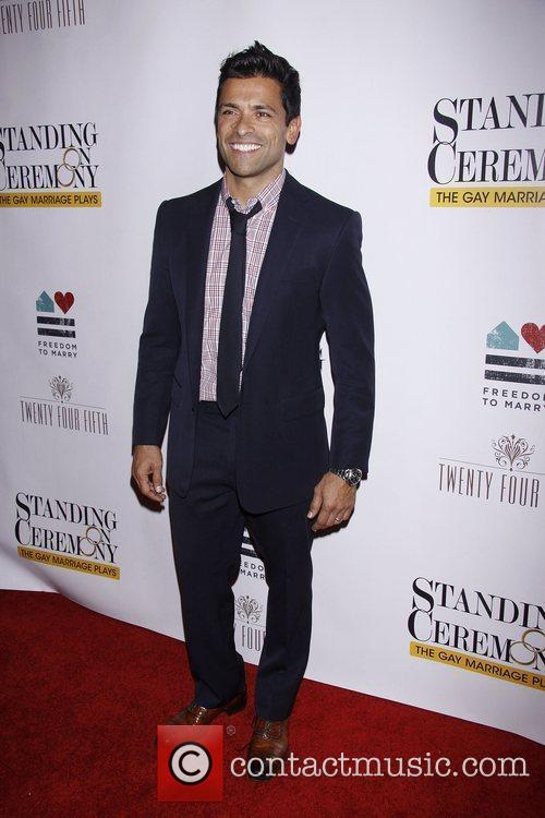 Mark Consuelos  Opening Night after party for...