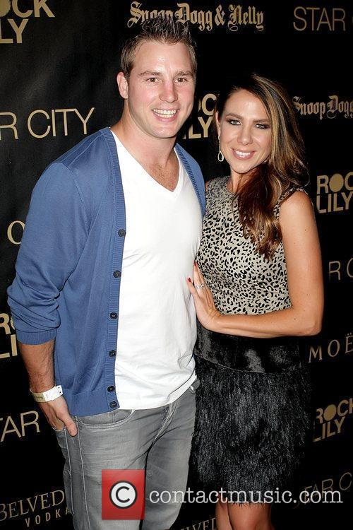 Stuart Webb and Kate Ritchie Star City Casino...