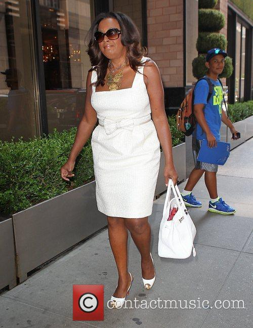 TV personality Star Jones  enters a Midtown...