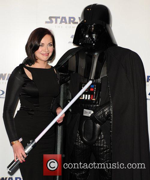 Charlotte Church Star Wars Blu-Ray - launch party...