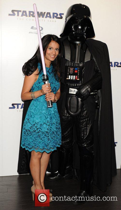 Sonali Shah Star Wars Blu-Ray - launch party...