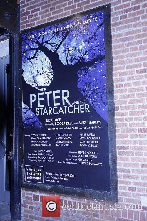 Opening night of the Off-Broadway production 'Peter and...