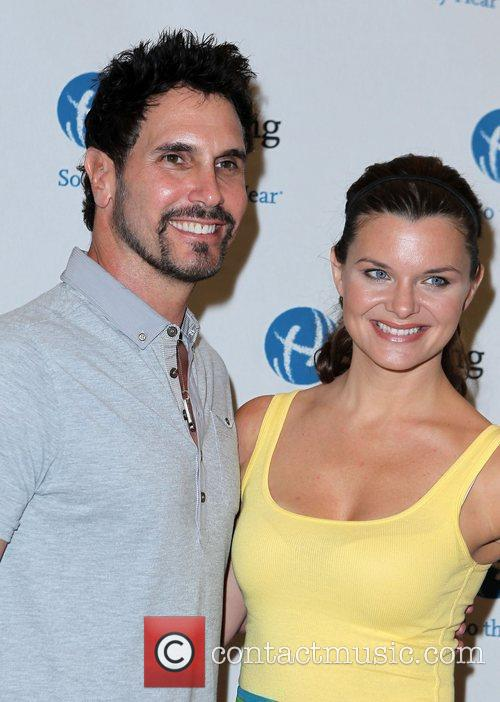 Don Diamont and Heather Tom Primetime and daytime...