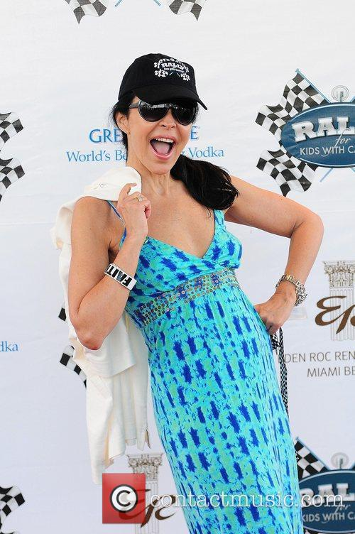 Singer/Actress Maria Conchita Alonso arrive at the Rally...