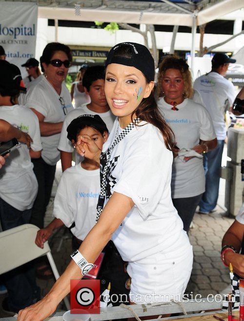 Eva Longoria participates in Rally for Kids with...