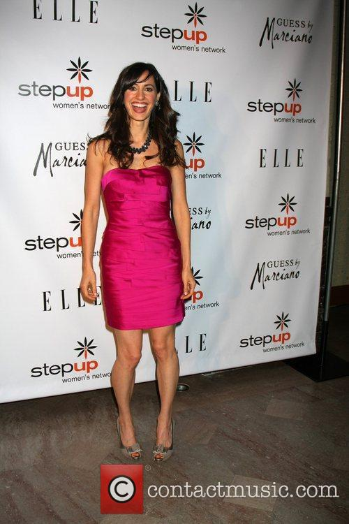charlene amoia arriving at the stepping up 3618658