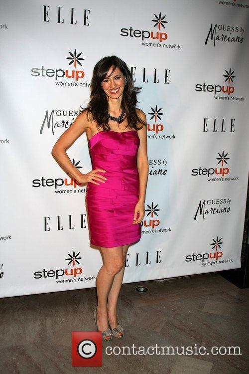 Charlene Amoia  arriving at the Stepping Up...