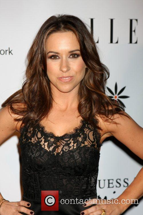 lacey chabert arriving at the stepping up 3618661