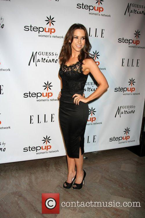 lacey chabert arriving at the stepping up 3618674