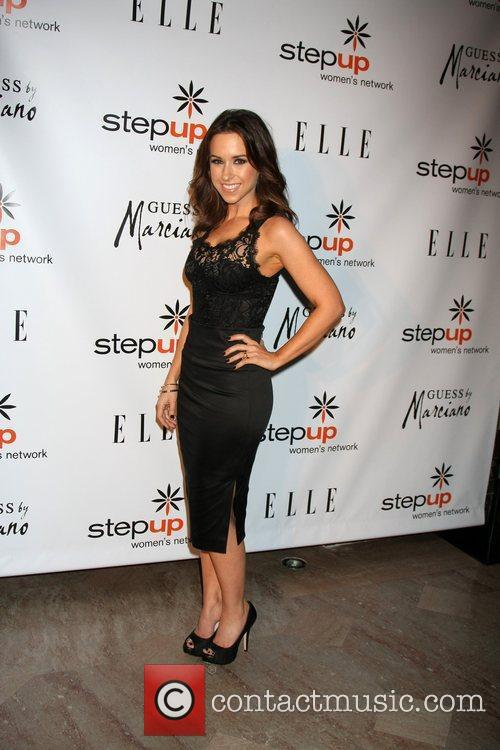 Lacey Chabert  arriving at the Stepping Up...