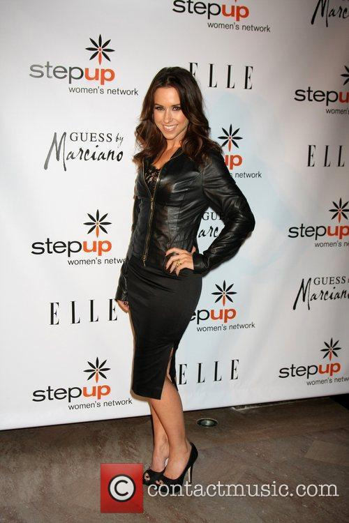 lacey chabert arriving at the stepping up 3618681