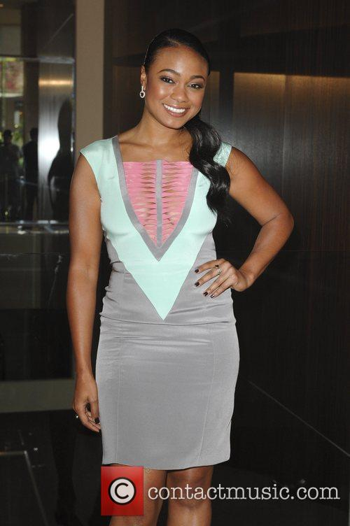 Tatyana Ali and Beverly Hilton Hotel 9