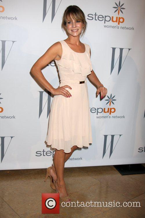 Jessalyn Gilsig and Beverly Hilton Hotel 1
