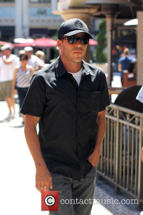 Stephen Dorff at The Grove where he was...
