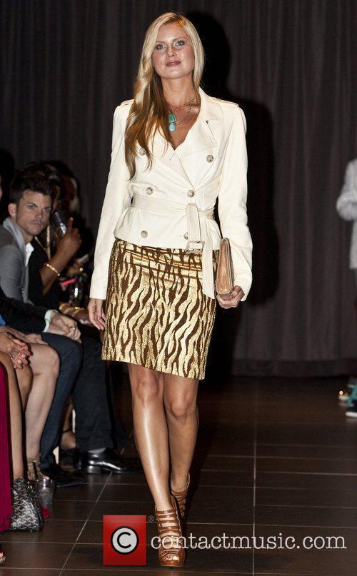 Amber Collins  Stephen Mikhail Resort 2012 Fashion...