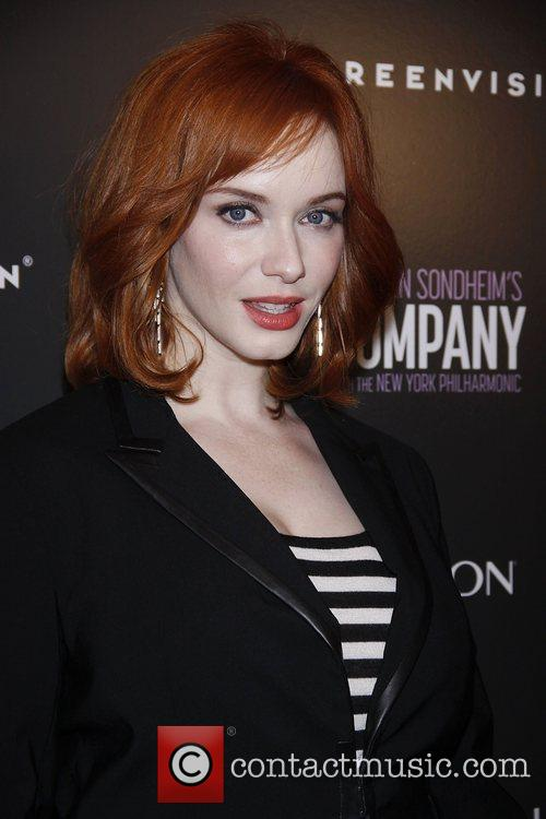 Christina Hendricks from the TV show Mad Men...