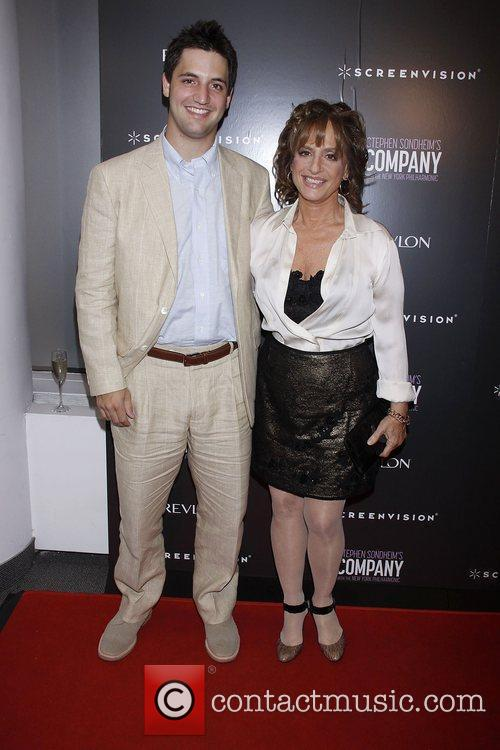 Joshua Johnston and Patti LuPone  Film premiere...