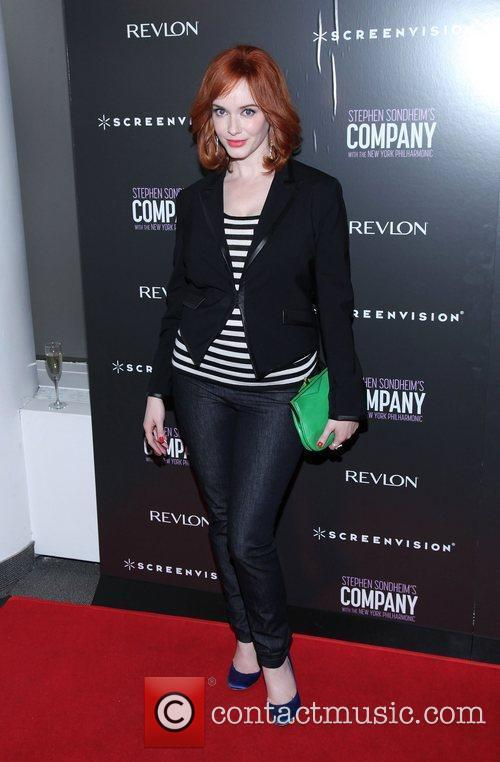 Christina Hendricks  Film premiere of the New...