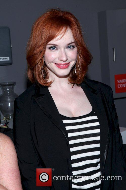 Christina Hendricks from the TV show Mad Men