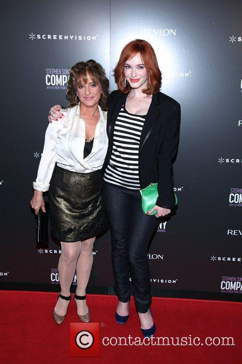 Patti Lupone and Christina Hendricks 7