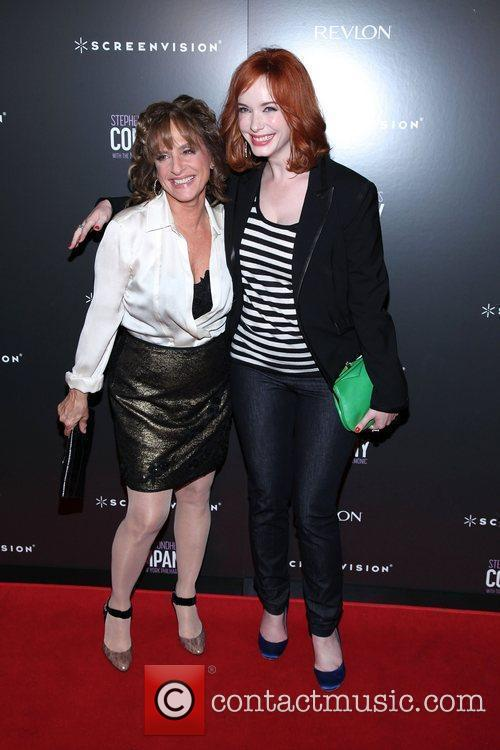 Patti Lupone and Christina Hendricks 6