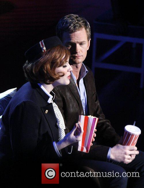 Christina Hendricks and Neil Patrick Harris 1