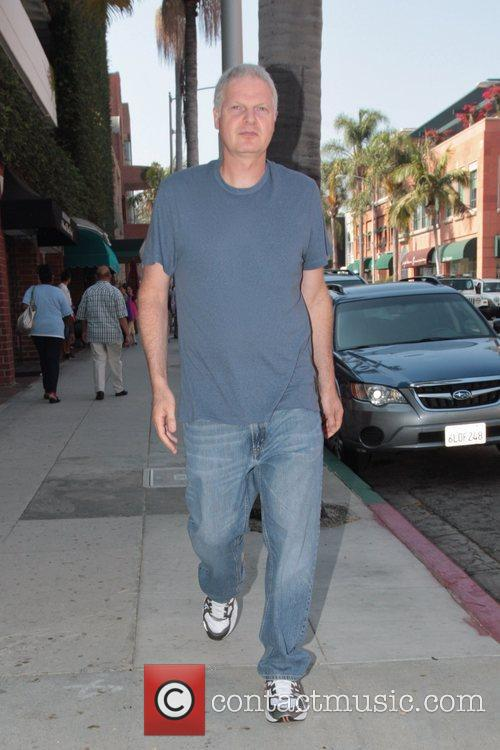 Steve Bing out and about in Beverly Hills...