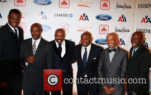 At the 2nd annual Steve Harvey Foundation Gala...