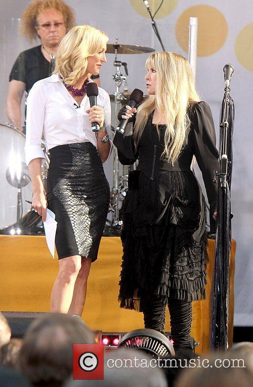Stevie Nicks performs in Central Park as part...