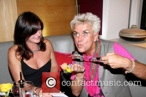 Miranda Davis and Steve Strange celebrities attend the...