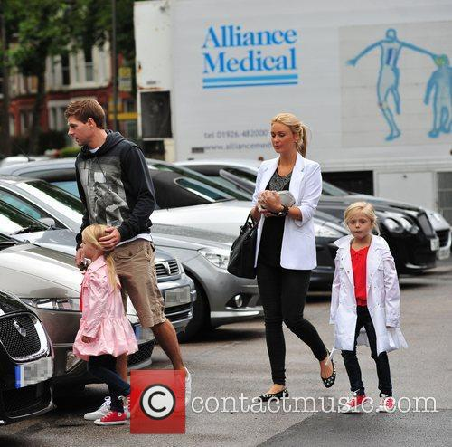 Steven Gerrard and Alex Curran 9