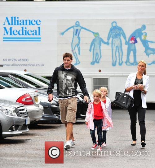 Steven Gerrard and Alex Curran 2
