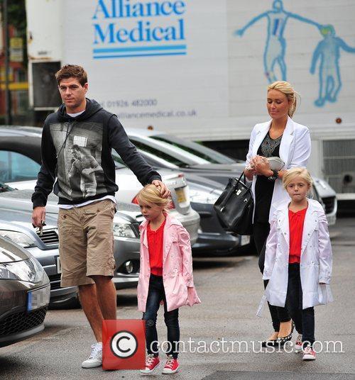 Steven Gerrard and Alex Curran 10