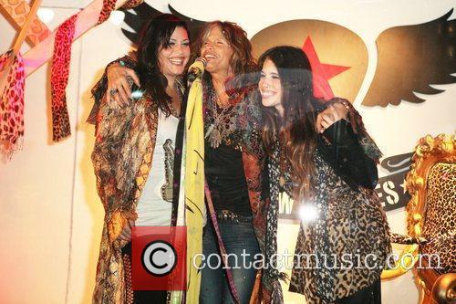 Mia Tyler, Steven Tyler and Macy's 4