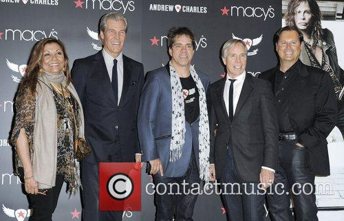 Andrew Charles fashion line launch at Macy's Herald...