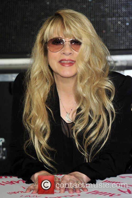 Stevie Nicks Signing Session at HMV Oxford Street,...