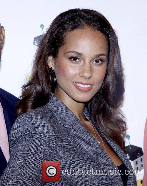 Alicia Keys and Times Square 2