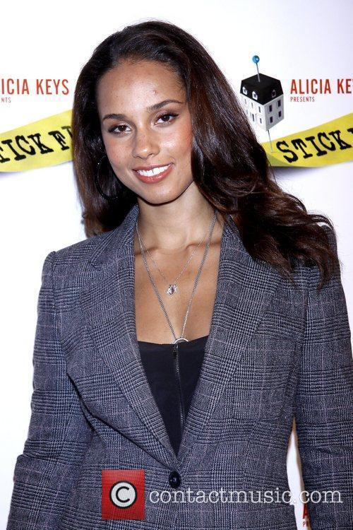 Alicia Keys and Times Square 5