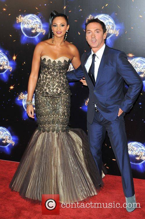 Alesha Dixon and Bruno Tonioli Strictly Come Dancing...