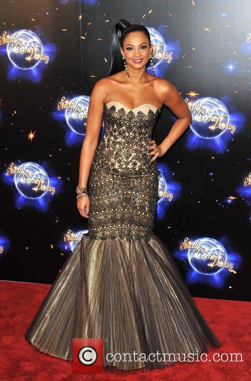 Alesha Dixon Strictly Come Dancing launching event held...