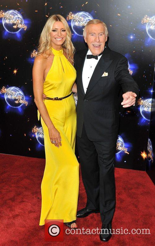 Tess Daly and Bruce Forsyth 2