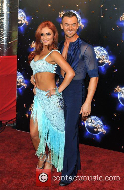 Aliona Vilani and Artem Chigvintsev Strictly Come Dancing...