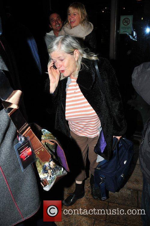 Ann Widdecombe arrives in Liverpool ahead of the...