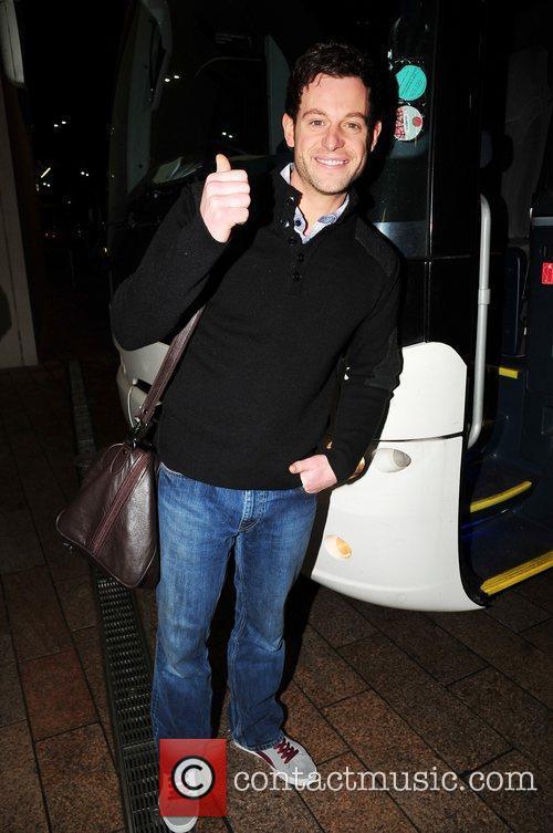 Matt Baker arrives in Liverpool ahead of the...