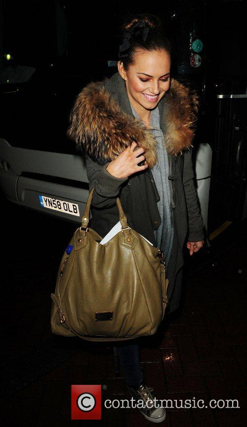 'Strictly Come Dancing' celebrities arriving back at their...